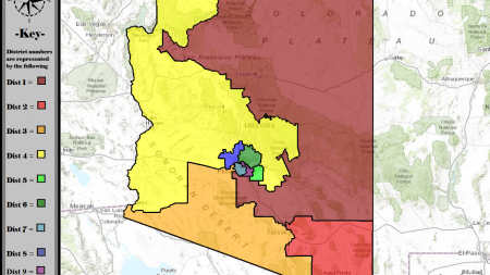 U.S. Congressional Districts in Arizona