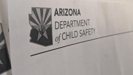 Arizona Department of Child Safety letterhead