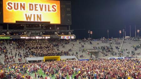 ASU Football Sun Devil Stadium win over Oregon