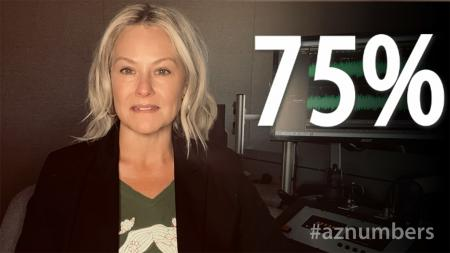 AZNumbers for May 21, 2021 - 75%