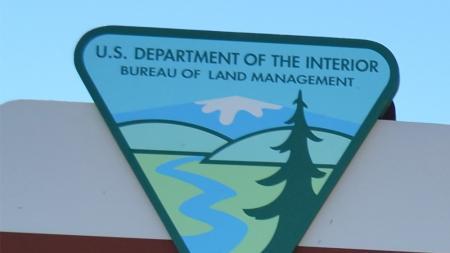 Bureau of Land Management sign