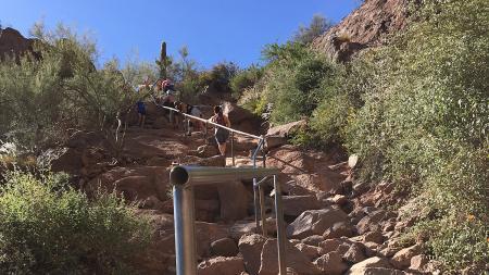 Camelback Mountain Echo Canyon Trail