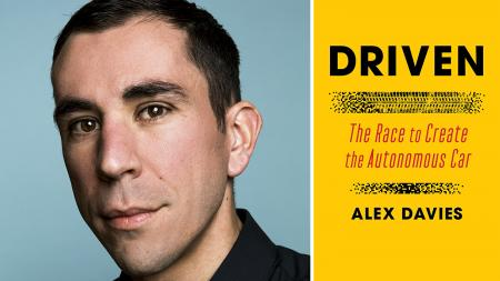 Alex Davies Driven autonomous car book