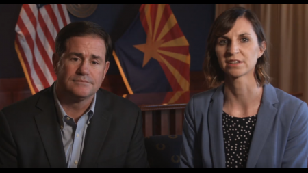 Doug Ducey and Kathy Hoffman