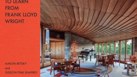 50 Lessons To Learn From Frank Lloyd Wright Book Cover