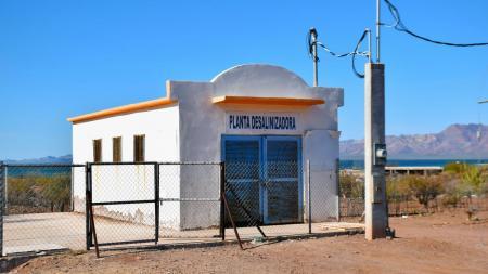 desalination plant in Punta Chueca