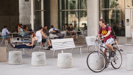 Arizona State University students on campus