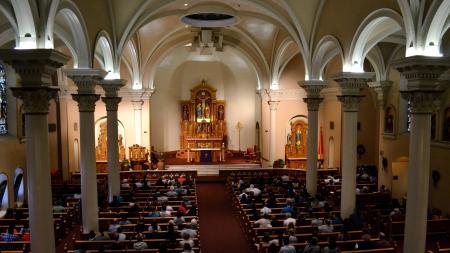 organ loft basilica