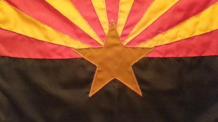 Arizona's state flag.