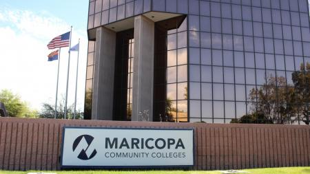 The Maricopa County Community College District building.