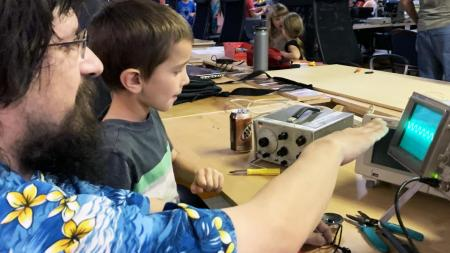 sounds of the city makerspace