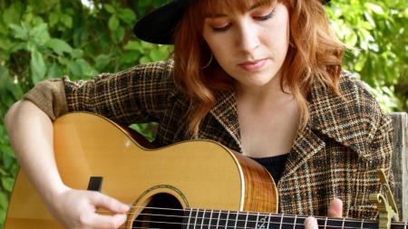 Savannah King performing for Tiny Desert Concert at The Farm at South Mountain
