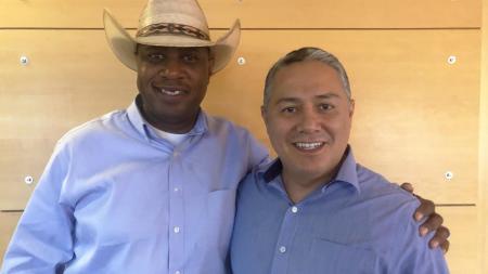 Republican Rep. Walter Blackman, Democratic Rep. Diego Rodriguez