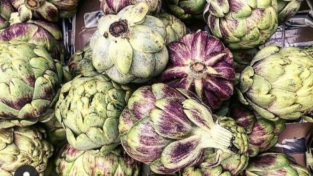 Artichokes from Blue Sky Organic Farms