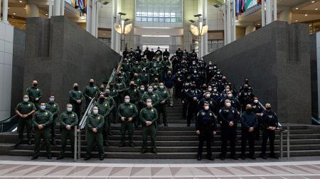 CBP agents prepare for inauguration