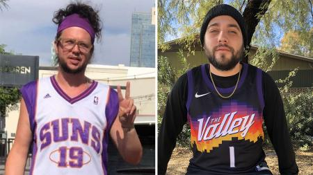 Suns fans Chase Gammon Serg Caraveo ChuggingWithTheFellas