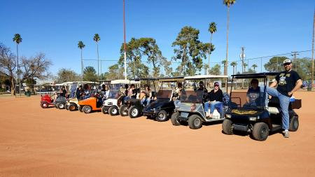 Coronado Hoodlums golf cart gang