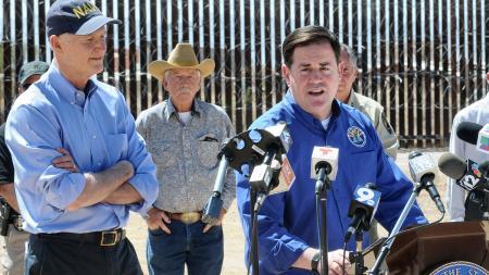 Doug Ducey Rick Scott Arizona border