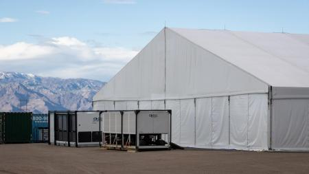 A temporary processing facility