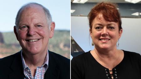Tom O'Halleran and Tiffany Shedd