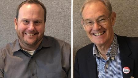 Paul Bentz and Terry Goddard