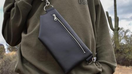 cactus leather bag