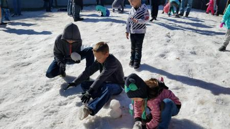 snow week at science center