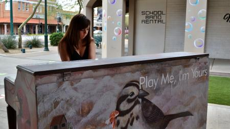 street piano mesa