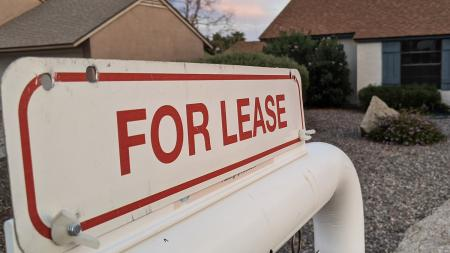 A home for lease in north Phoenix