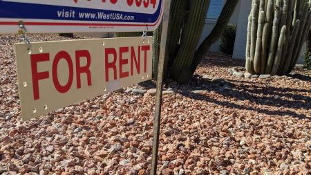 A house for rent in Phoenix.