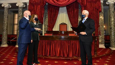 Senator Mark Kelly Oath of Office
