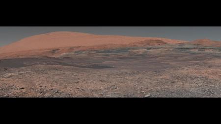 photo of mars landscape