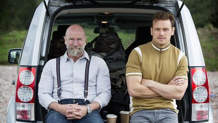 Men in Kilts Graham McTavish and Sam Heughan