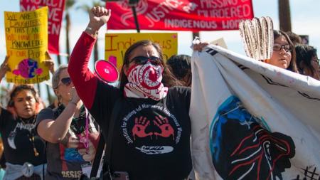 Indigenous woman led the 2019 Phoenix Women's March