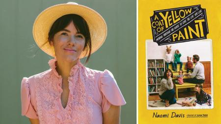 Naomi Davis Taza A Coat of Yellow Paint