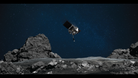 NASA's OSIRIS-REx mission readies itself to touch the surface of asteroid Bennu