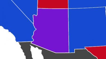 Arizona purple state