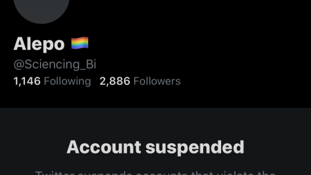 sciencing_bi Twitter account suspended