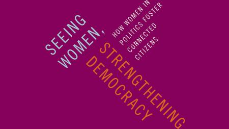 Seeing Women, Strengthening Democracy book