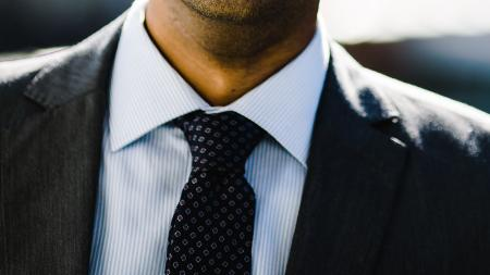 person in a suit and tie