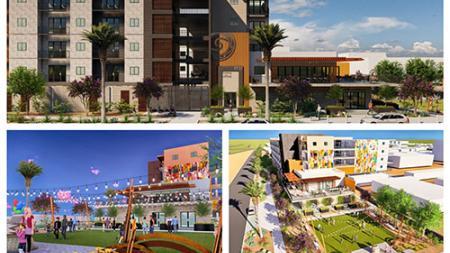 The Moreland development