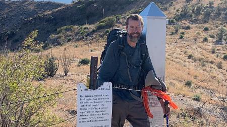 Tom Zoellner Arizona trail border