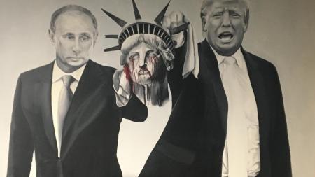 Trump Putin Art