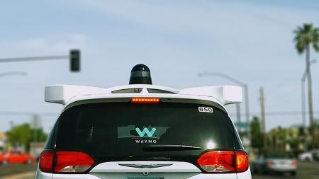 waymo car