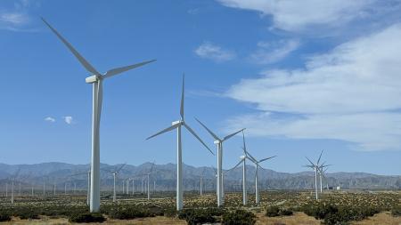 Windmills on California