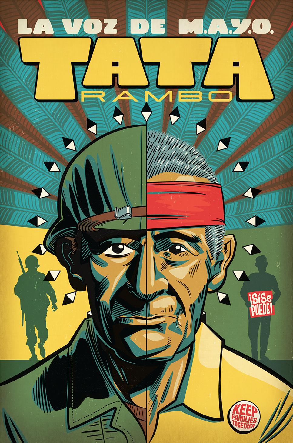 La Voz de Mayo: Tata Rambo book cover