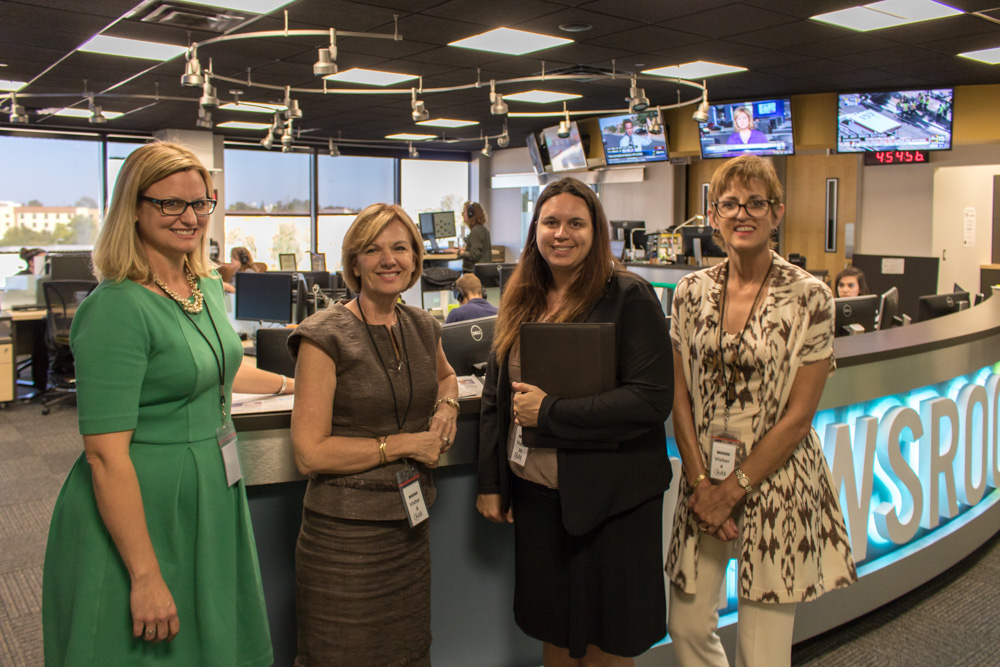 KJZZ Newsroom Tour