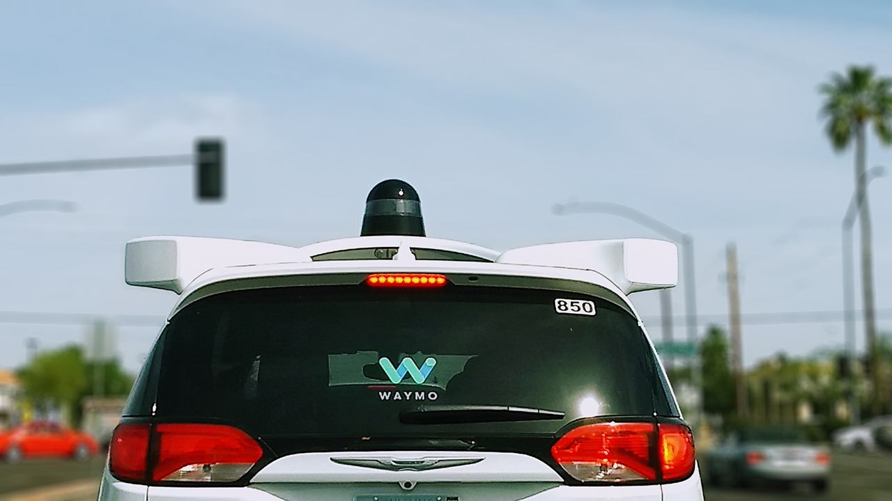 waymo car