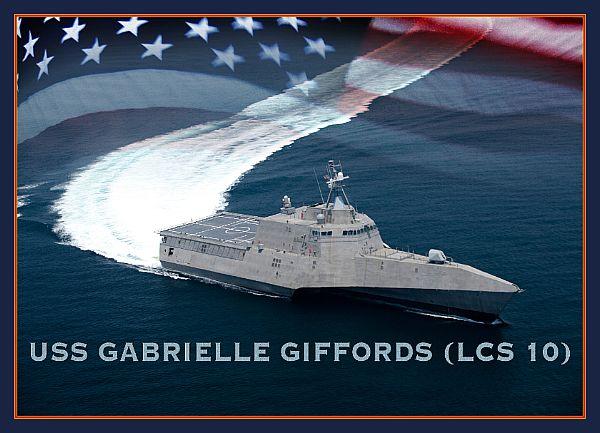 USS Gabrielle Giffords illustration