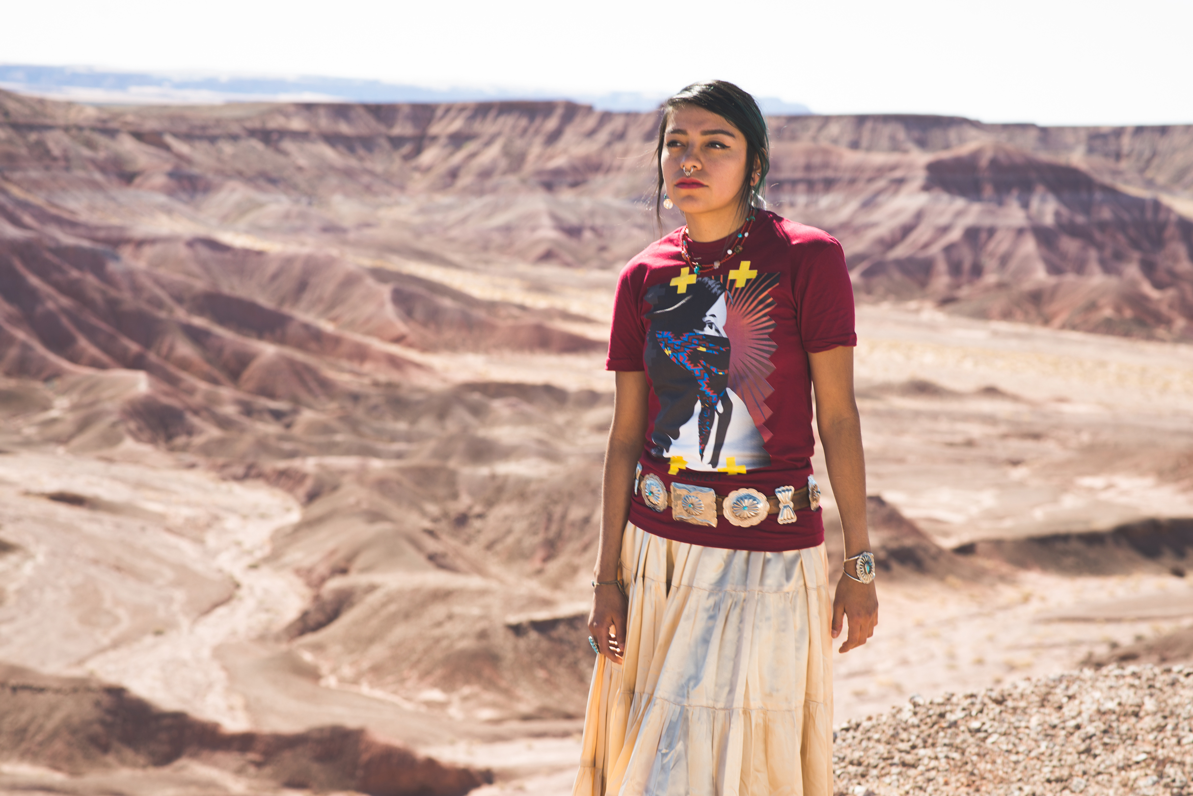 Navajo Fashion Designer Uses T-Shirts To Illustrate Native ...